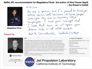 NASA JPL Recommendation
